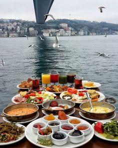 Turkish Breakfast, Türk Kahvaltısı, Istanbul, Turkey