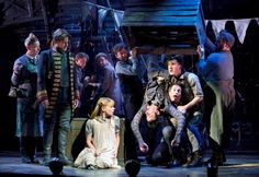 Celia Keenan-Bolger, Adam Chanler-Berat and the cast of PETER AND THE STARCATCHER