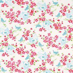 Cute for a sundress! Tanya Whelan - Sugar Hill - Birdy in White