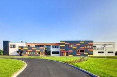 Gallery of Park Brow Community Primary School / 2020 Liverpool – 1 – Educational Architecture Liverpool, School Building Design, School Design, Education Architecture, School Architecture, Colour Architecture, Primary School, Elementary Schools, High Schools