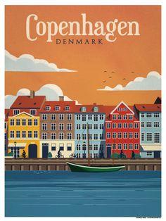 Image of Copenhagen Poster