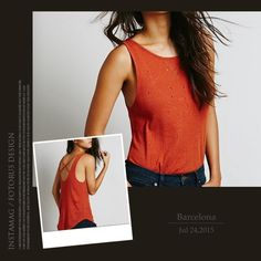 NWT Free People Shredded Tank Strappy back, shredded style, rustic orange color. Ribbed texture, we the free collection. Interior tag marked. 55% linen 45% cotton. Discount with bundle. Free People Tops Tank Tops