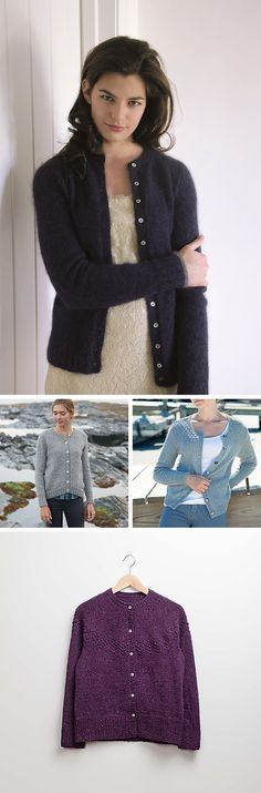 Make Your Own Basics: The crewneck cardigan