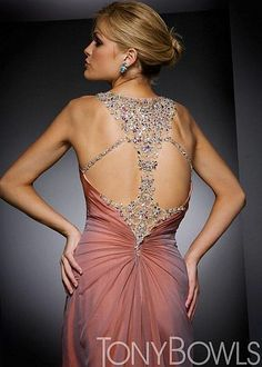 Alternate view of the Beautiful Crystal Bodice Pageant Dress Tony Bowls Collection image Dressy Dresses, Club Dresses, Dress Outfits, Fashion Dresses, Prom Dresses, Lace Dresses, Dress Lace, Tony Bowls, Pageant Gowns