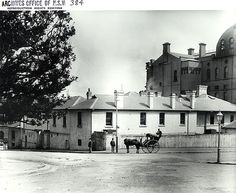 New South Wales Survey Office, Castlereagh Street, Sydney Dated source Horse Drawn, Historical Architecture, Blue Mountain, East Coast, Old World, Old Photos, Worlds Largest, 19th Century, Britain