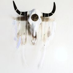 Skydancer Dreamcatcher Skull