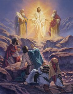 Christian Artwork, Christian Pictures, Pictures Of Jesus Christ, Bible Pictures, Jesus Our Savior, Jesus Is Lord, Santicima Trinidad, Transfiguration Of Jesus, Image Jesus