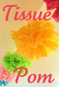 EASY: 8 in. Tissue Poms