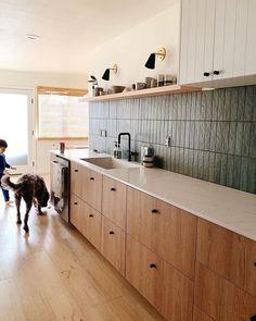 Condo Kitchen, Kitchen Interior, New Kitchen, Kitchen Remodel, Custom Cabinet Doors, Ikea Kitchen Cabinets, Interior Desing, Küchen Design, Modern Kitchen Design