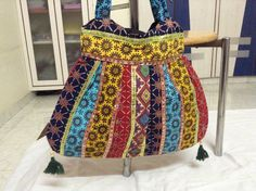 Bohemian Hand Made Purse Shoulder Bag Tote Indian by aintweswank, $15.00