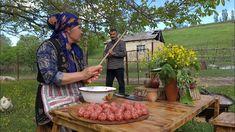 The Best Homemade Pasta With Meatballs, Köftəli Makaron, Outdoor Cooking - YouTube