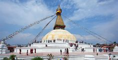 One of the most significant Buddhist monuments in the world, the Boudhanath Stupa is a UNESCO World Heritage Site being one of the largest in the world.