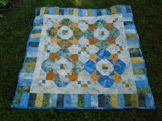 Little Bunny Quilts: Little Spring Splendor {Finished Baby Quilt}