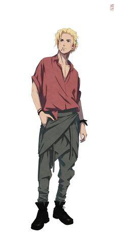 Haikyuu Fanart, Haikyuu Anime, Haikyuu Ships, Haikyuu Kageyama, Dnd Characters, Fantasy Characters, Character Concept, Character Art, All Out Anime