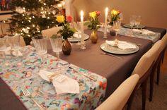 Decoração da mesa de Natal e Ano Novo - Table Setting Ideas