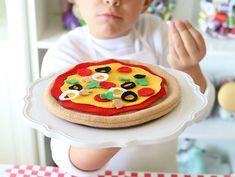 Felt Pizza Playset Craft