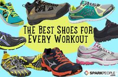 Find Your Sole Mate: The Perfect Shoe for Every Workout via @SparkPeople