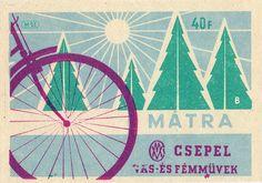Vintage Hungarian Matchbox