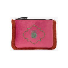Mehry Mu Mutopia Embroidered Pochette (€165) ❤ liked on Polyvore featuring bags, handbags, clutches, velvet purse, embroidered purse, embroidery handbags, purple handbags and embroidery purse