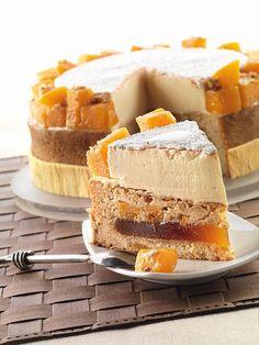 Torta di zucca e zabaione di Luca Montersino - Pumpkin and Zabaione cake by Pastry Chef Luca Montersino - Yum!