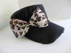 Cadet Hat, Military Hat, Black Hat,Hat, Womens Hat, Tiger, Rhinestone, Leopard Bling Hat  This one is super cute! :)