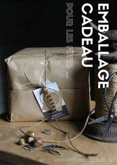 Emballage cadeau offert pour les fêtes ...Pour plus de plaisir à offrir ! Notre site : www.ducotedelatelier.fr