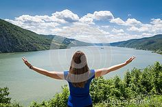 Young Woman Feeling Free - Download From Over 26 Million High Quality Stock Photos, Images, Vectors. Sign up for FREE today. Image: 41876781