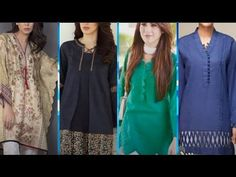 Latest Kurti Designs 2020 - New Stylish Kurti Design 2020 - Stylish Shor... - Latest Kurti Design  IMAGES, GIF, ANIMATED GIF, WALLPAPER, STICKER FOR WHATSAPP & FACEBOOK