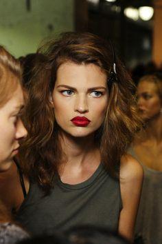 Hair & Lips