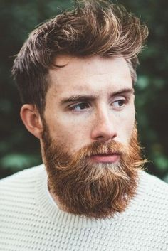 ducktail beard