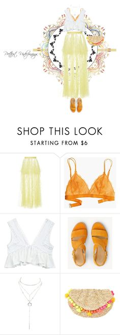 """""""Prettiest Underpinnings"""" by scarsandstories ❤ liked on Polyvore featuring Rodarte, Madewell, rag & bone, Charlotte Russe and Lilly Pulitzer"""
