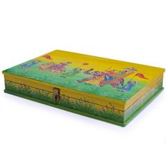 Indian Emperor Parade Wooden Jewelry Box #indianjewelry