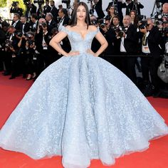 All the Celebrity Looks from the 2017 Cannes Film Festival Red Carpet - Aishwarya Rai Bachchan from InStyle.com