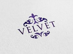 A Pixellogo template review about Logo-2246, an elegant design with intricate ornaments. This simple logo template combines curvy, abstract shapes with a deep shade of purple that adds to its fancy look. #logo #design $29.00