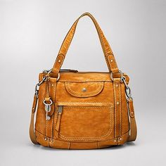 yellow Fossil bag