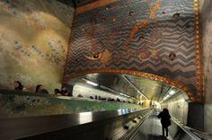 metropolitana di Napoli-stazione MATERDEI