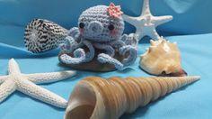 Los mundos de Esthercita: Amigurumi pulpo gratis Lana, Teddy Bear, Toys, Animals, Octopus, Chrochet, Activity Toys, Animaux, Animal