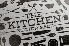 Kitchen Vector Pack by VoxelFlux on Creative Market