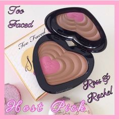 Host PickToo Faced Soul Mates Blushing Bronzer Too Faced Soul Mates - Ross & Rachel. Bronzer & blush: the power couple of beauty. The duo made in makeup heaven adds warmth, contour & a pop of color for the radiant look of true love.  BNIB. Never used or swatched. 100% Authentic. No Trades, No PP. Price Firm. Too Faced Makeup Bronzer