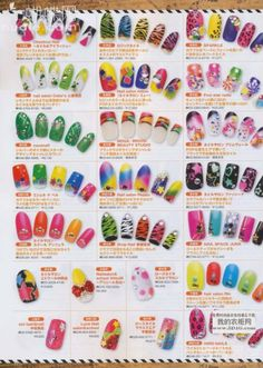 Photos of trendy japanese manicure part 2 kabasia nail nail up magazine the kawaii nail art motherload scans scans scans prinsesfo Image collections