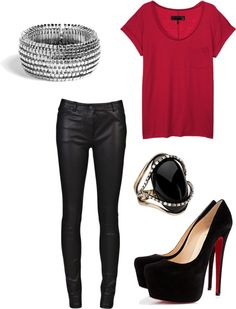 """um.."" by gabbyjos ❤ liked on Polyvore"