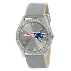 Game Time Women's NFL-GLI-NE Glitz Classic Analog New England Patriots Watch. http://todaydeals.me/viewdetail.php?asin=B004DHR360