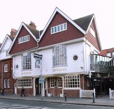 The Tabard Inn (1880), Bath Road, Bedford Park, London by Norman Shaw