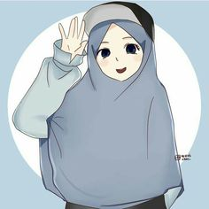 My photo profil Anime Chibi, Anime Art, Hijab Drawing, Islamic Cartoon, Hijab Cartoon, Kawaii, Muslim Girls, Islamic Pictures, Mode Hijab