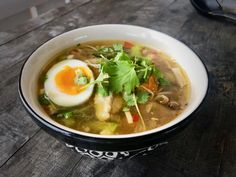 Ramen med kylling og sopp – Båtmat Ramen, Frisk, Chili, Japanese, Ethnic Recipes, Cilantro, Chile, Japanese Language, Chilis