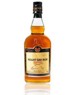 Mount Gay Extra Old Rum, $75.00 #rum #gifts #1877spirits