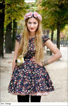 Elisa - les Tuileries by Fred - Easy Fashion Paris