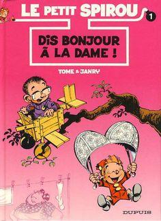 """Le Petit Spirou par Tome & Janry /// A mon sens le plus réussi des spin-off """"juenesse"""" d'une série culte (bien loin devant Kid Lucky ou encore Gastoon). Même si à force je trouve une certaine répétition de mécanique humouristique entre certaines histoires, c'est une très belle déclinaison."""