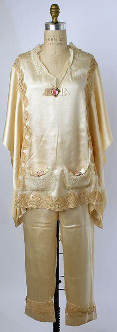 1928 pajamas boue soeurs.