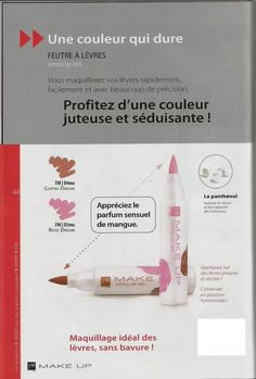 03MU Feutre à lèvres ROSE DREAM 3ml 04MU Feutre à lèvres COFFEE DREAM 3ml prix:9.93eur
